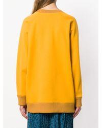 Fendi エンブロイダリー スウェットシャツ Multicolor