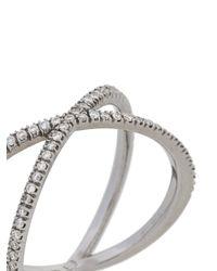 Eva Fehren Metallic Shorty X Ring