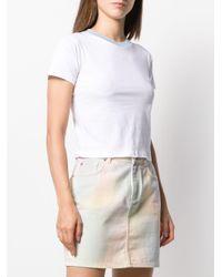 Être Cécile White Cat Eyes Inez T-shirt