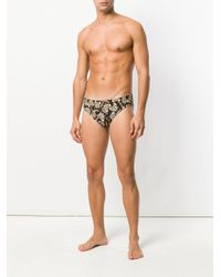 Moschino - Black Teddy Bear Print Swimming Briefs for Men - Lyst