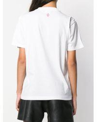 Marcelo Burlon White 'He Never Cared' T-Shirt