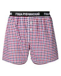 Gosha Rubchinskiy Men's Red Cotton Boxer for men