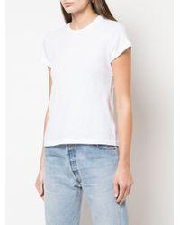 Re/done スリム Tシャツ White