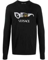 メンズ Versace プルオーバー Black