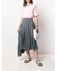 Rochas プリーツスカート Multicolor