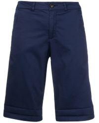 Woolrich ストレート ショートパンツ Blue