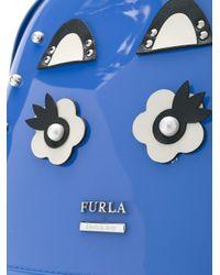 Furla Blue Candy Backpack
