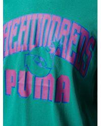 メンズ PUMA The Hundreds プリント Tシャツ Green