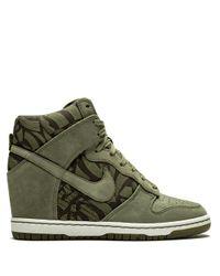 Nike Green Wmns Dunk Sky Hi Lib Og Qs Sneakers