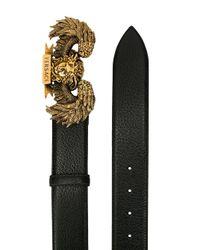 Ceinture à boucle Medusa Versace pour homme en coloris Black