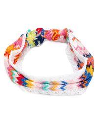 Missoni - Multicolor Zig-zag Headband - Lyst