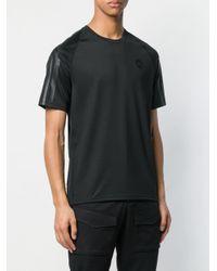 メンズ J.Lindeberg M Riley メッシュ Tシャツ Black
