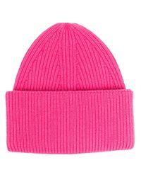 Трикотажная Шапка Бини Laneus, цвет: Pink