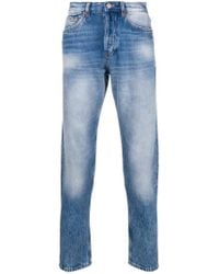 Mauro Grifoni Blue Slim-fit Jeans for men