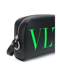 メンズ Valentino Garavani Vltn トラベルポーチ Black
