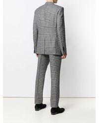 Costume à motif pied-de-poule Tom Ford pour homme en coloris Gray