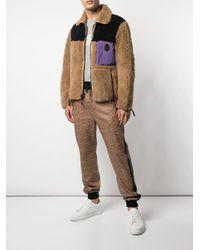 メンズ COACH カラーブロック ジャケット Multicolor