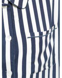Morgan Lane Blue Personalisierbares 'Dillon' Pyjamahemd