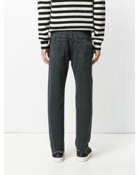 Pence Black Regular Jeans for men