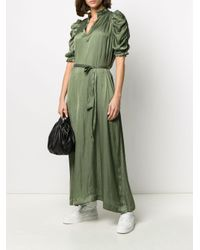 Zadig & Voltaire Ray ロングドレス Green