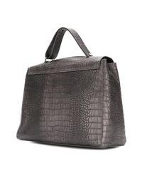 Orciani Gray Cocco Sveva Bag