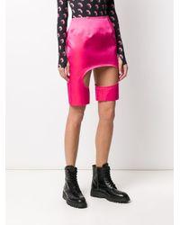 Comme des Garçons カットアウト ミニスカート Pink
