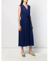 Vestito smanicato di Paul Smith in Blue