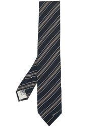 Cravatta a righe di Brioni in Blue da Uomo