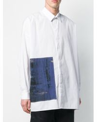 メンズ Isabel Benenato リラックスフィット シャツ White