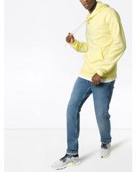 メンズ John Elliott Beach ジャージーパーカー Yellow