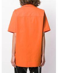 Kwaidan Editions ショートスリーブ シャツ Orange