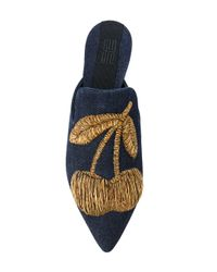 Sanayi 313 - Blue Ciliegia Slippers - Lyst