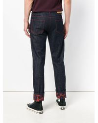 KENZO Blue Slim Fit Jeans for men