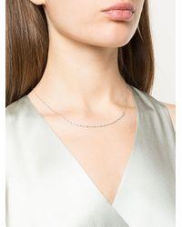 Dana Rebecca Lulu Jack ダイヤモンド ネックレス 14kホワイトゴールド Multicolor
