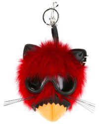 Llavero de ratón punk Stella McCartney de color Red