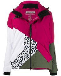 Kappa カラーブロック パデッドジャケット Gray