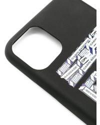 Cover per iPhone 11 Pro Max di Off-White c/o Virgil Abloh in Black