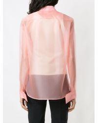 Gloria Coelho シルクシャツ Pink