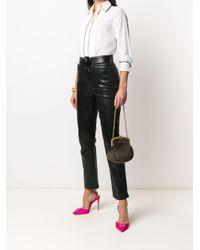 Mini sac à main à bride en chaîne Dolce & Gabbana en coloris Brown