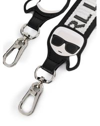 Ремень С Логотипом Karl Lagerfeld, цвет: Black