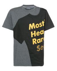 メンズ Mostly Heard Rarely Seen ロゴ Tシャツ Multicolor