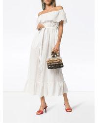 Платье 'victoria' С Открытыми Плечами Marysia Swim, цвет: White