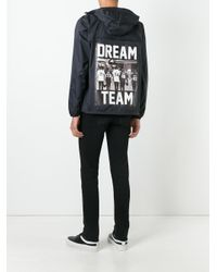 LES (ART)ISTS - Black K-way X Les (art)ists Dream Team Bomber Jacket for Men - Lyst