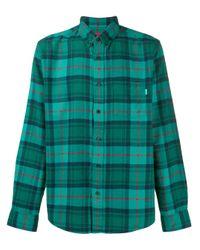 Supreme Green Tartan Flannel Shirt for men