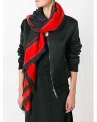 Givenchy ロットワイラー プリントスカーフ Multicolor