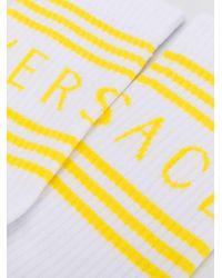 Носки С Логотипом Versace, цвет: White