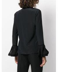 Двухцветная Рубашка Tory Burch, цвет: Black