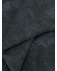 Valentino - Black Garavani 'camustars' Scarf for Men - Lyst