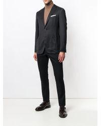 メンズ Dell'Oglio スーツジャケット Black