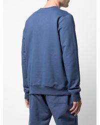 メンズ CASABLANCA ロゴ スウェットシャツ Blue